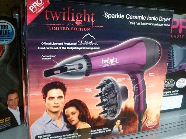 8. Alacakaranlık temalı saç kurutma makinesi.