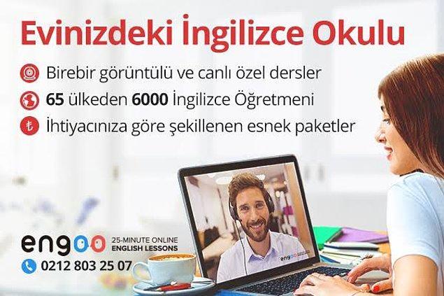 Şimdi istediğiniz yerde yabancı dil öğrenmek çok kolay! Çünkü İngilizce eğitiminde Engoo Türkiye var.