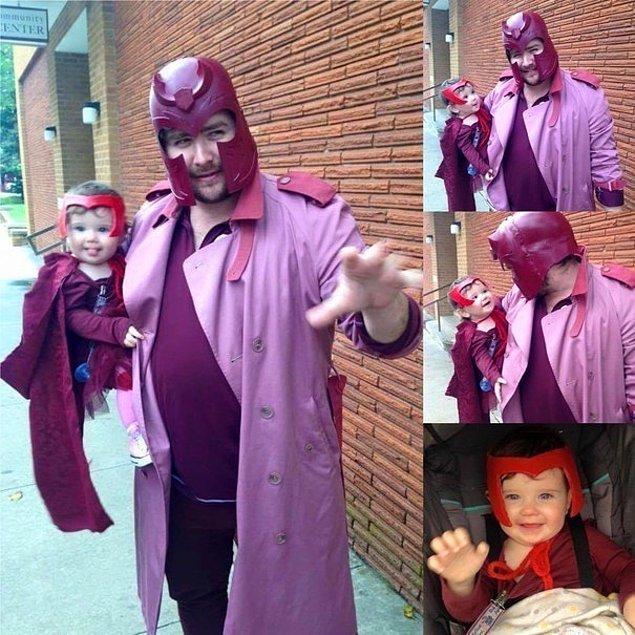 2. Kızıl Cadı ve Magneto