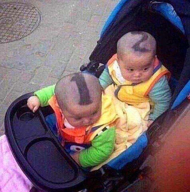 3. İkiz bebekleri karıştırmaya son!
