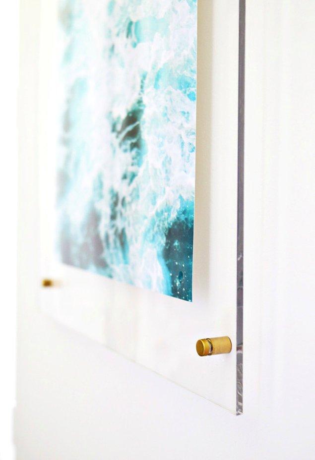 5. Evi sanat galerisine dönüştürmek çok kolay!
