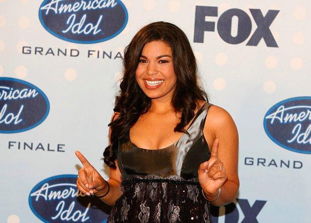 """15. Jordin Sparks, """"American Idol"""" ödülünü kazandı."""