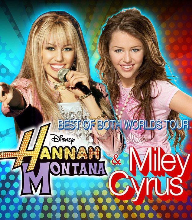 21. Miley Cyrus ve Hannah Montana'nın beraber çıktıkları dünya turu da yılın en güzel olaylarından oldu.