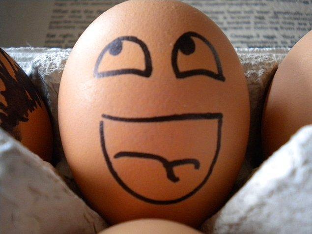 5. Gelelim son proteinimize yani yumurtaya!