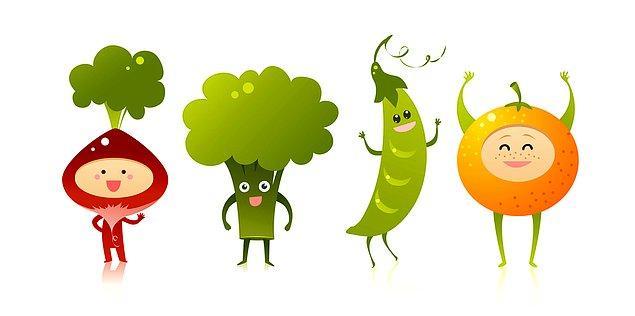 10. Sebzeler de geri kalmıyor, onlar hayatımızın içinde hep olmalılar!