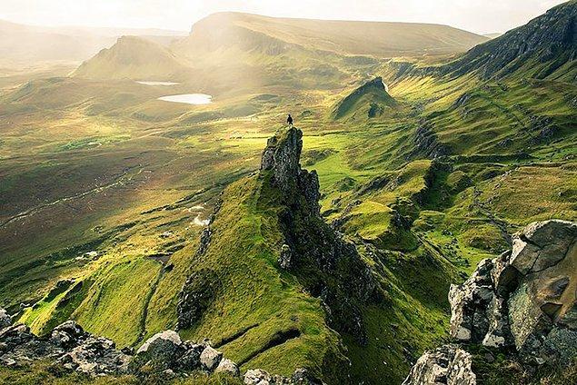 19. Skye, İskoçya