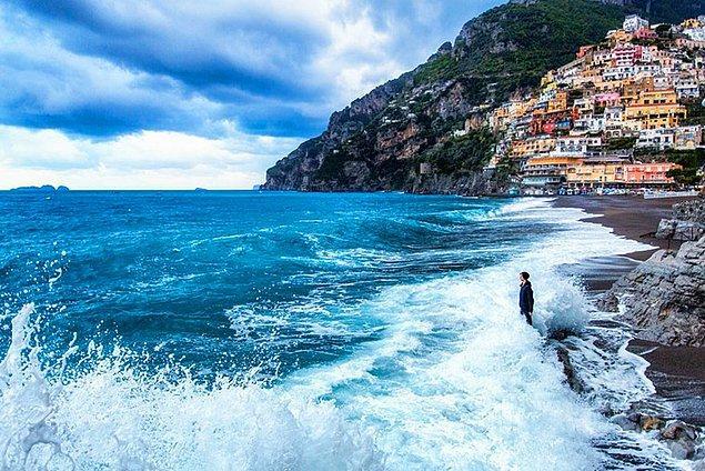 22. Positano, İtalya