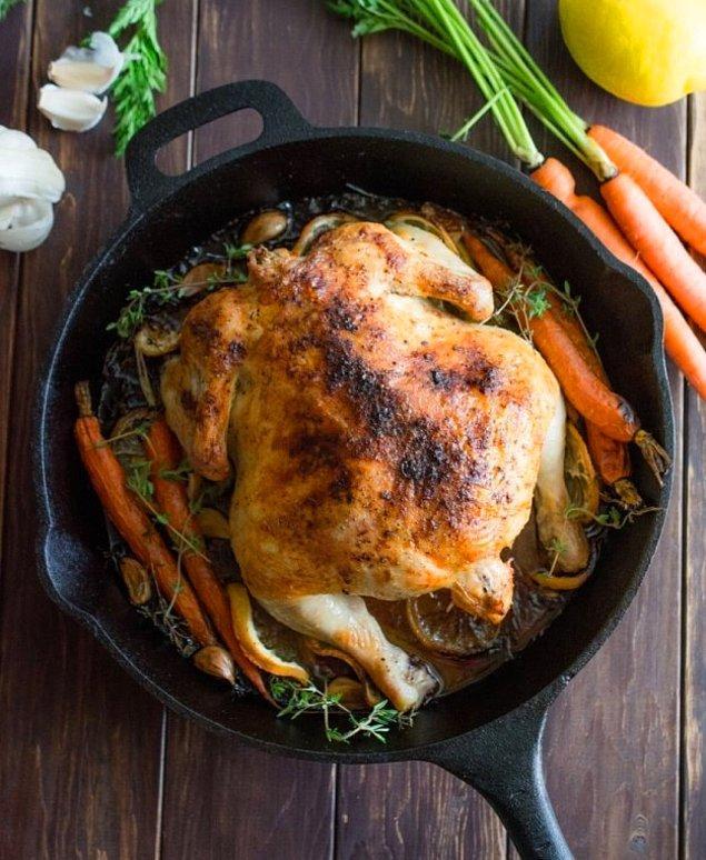 1. Bütün aileyi doyuracak kocaman bir yemek.