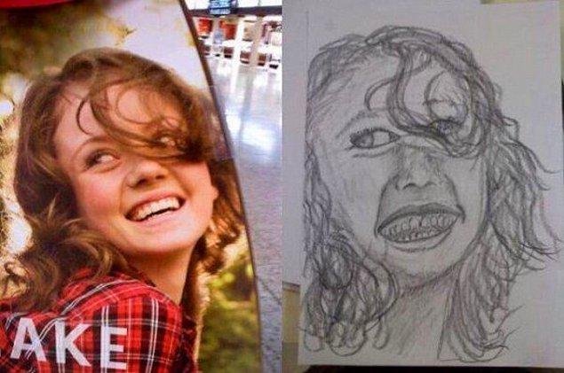 11. Portreleriniz çizilir... Tost makinesiyle.