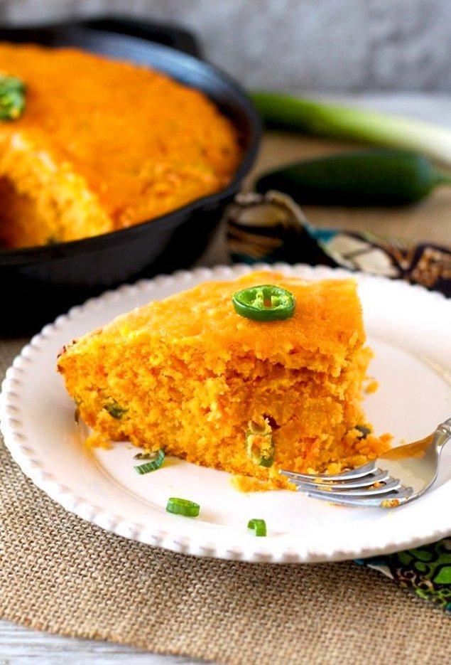 4. Mis kokulu mısır ekmeğini şipşak yapmaya ne dersiniz?