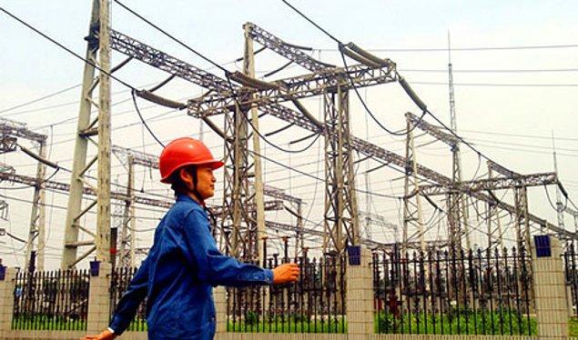 7. Çin Elektrik Şebekesi Kurumu