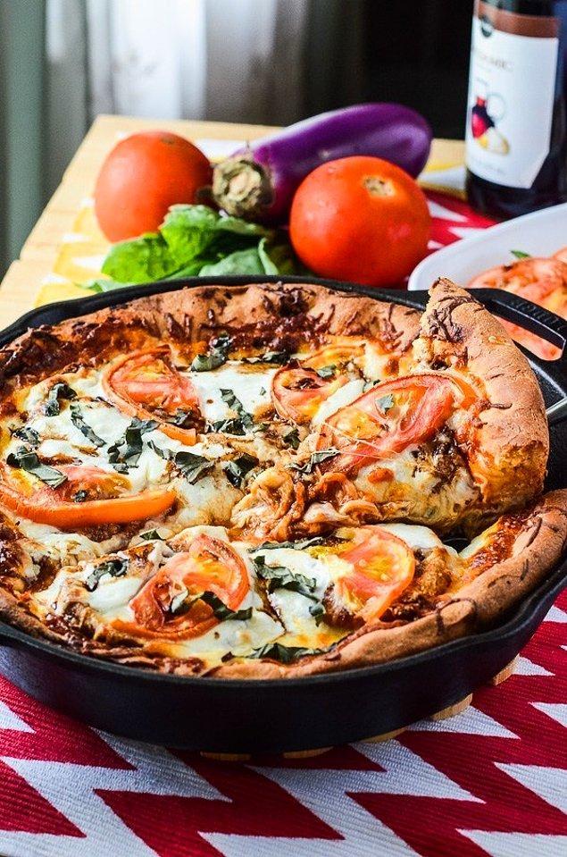 7. İtalyanlar kadar güzel pizza yapmak çok da zor değil!