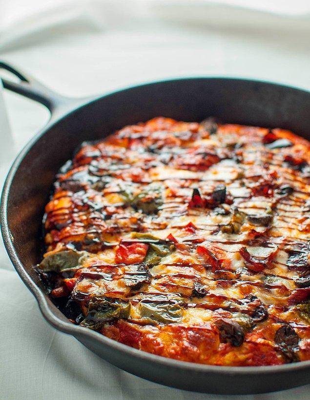 3. Bu barbekü soslu pizza, pizzaya olan bakış açınızı değiştirecek!
