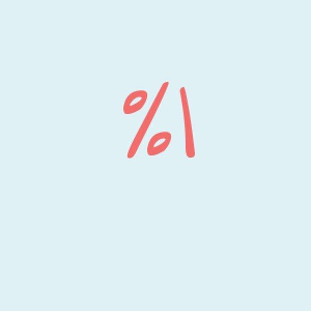 Yüzde 1!