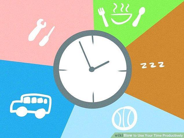 2. Zamanını verimli ve yararlı şeylere harcıyorsan...