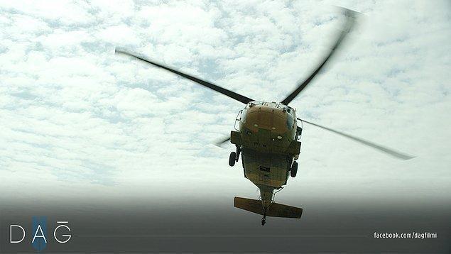 9. Sikorksy S70 askeri helikopterin uçurulduğu DAĞ II'de üç T-155 FIRTINA OBÜS'ü kullanılmış ve T-155'lerle manevra atışı gerçekleştirilmiş.