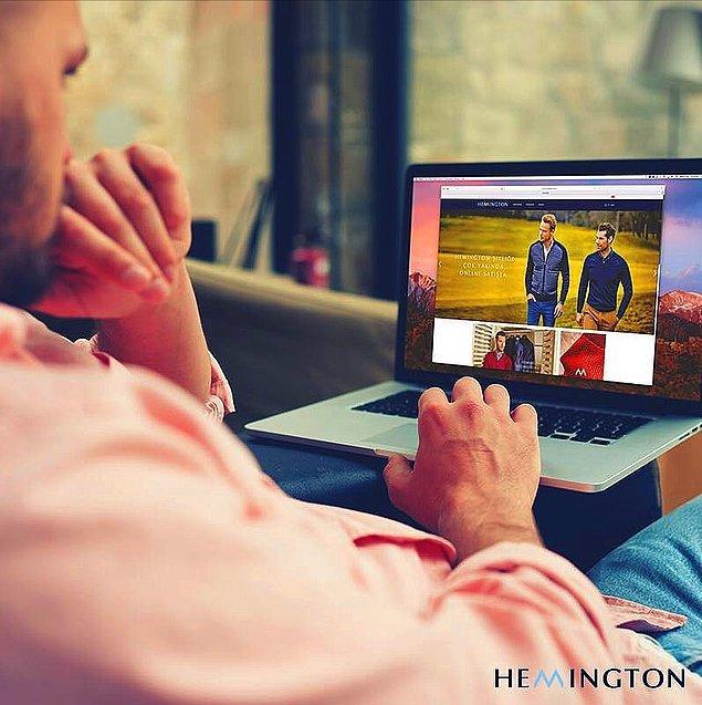 Artık alışverişleriniz için alternatif bir yol var: Kalitenin adresi Hemington Online Shop açıldı!