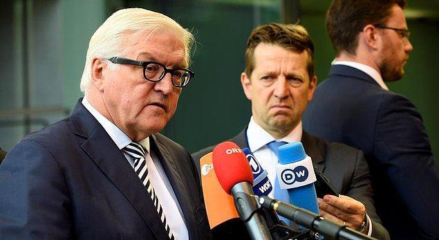 Almanya Dışişleri Bakanı: Terörle mücadele muhalifleri susturmak için gerekçe değil