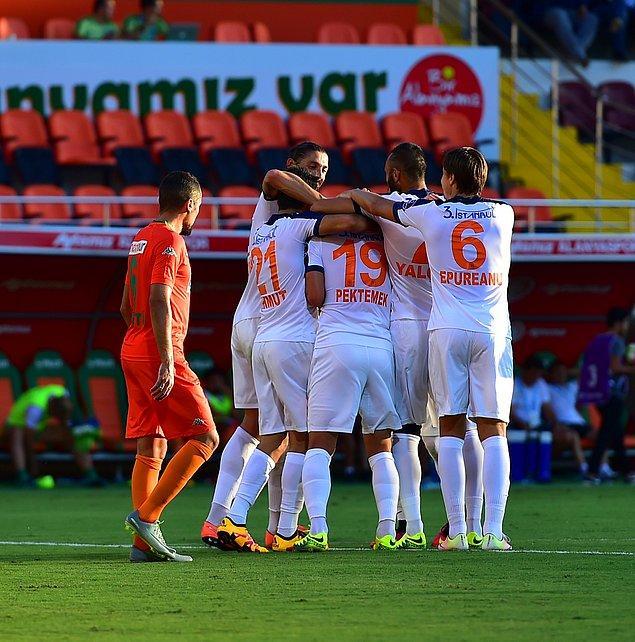Başakşehir'in şimdiye dek oynadığı maçlar böyle sonuçlandı: