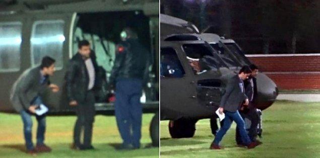 Demirtaş daha sonra helikopterle Edirne'ye götürüldü