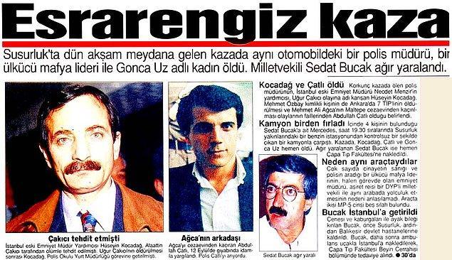 Susurluk Kazası - 3 Kasım 1996