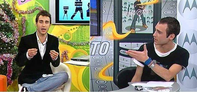 7. Okulu bittiğinde İstanbul'a tekrar dönen oyuncu, özel yayın yapan bir müzik kanalında vj olarak çalışmaya başladı.