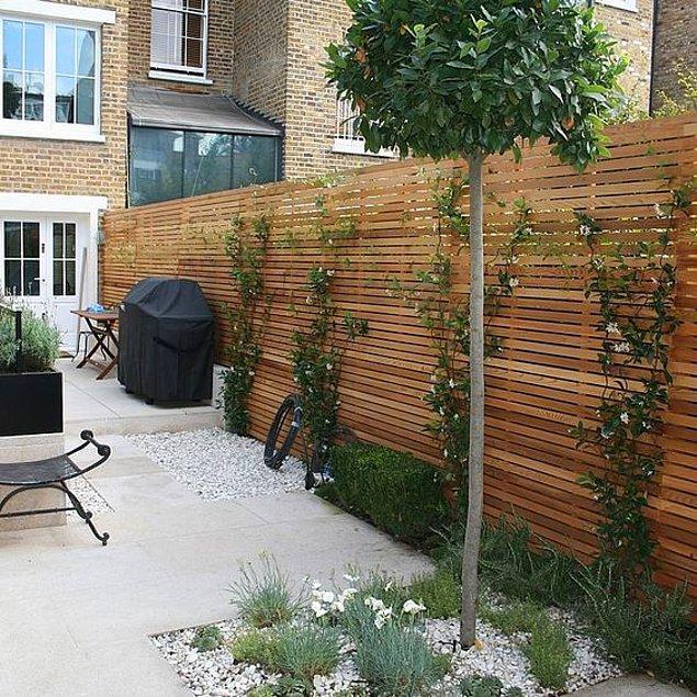 6. Bahçe çitleri yenilensin.
