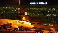 Atatürk Havalimanı'nda Dur İhtarına Uymayıp Paniğe Neden Olan 2 Kişi Adliyeye Sevk Edildi