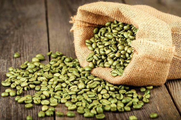 12. Yeşil kahve çekirdeği