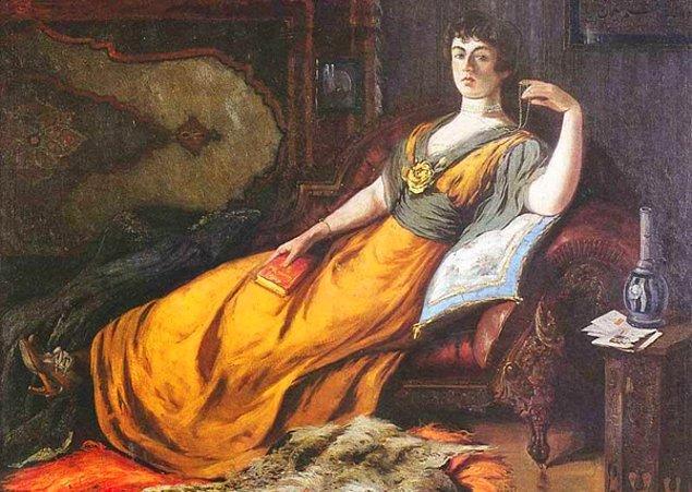 """7. Ya sence """"Haremde Goethe"""" isimli eser Osmanlı Hanedanının hangi üyesi tarafından yapılmıştır?"""
