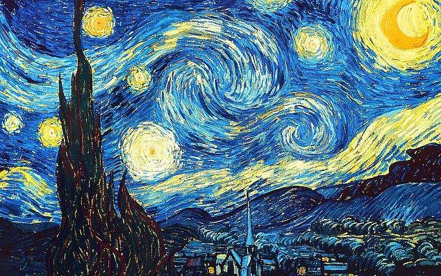 5. Vincent Van Gogh'un bu ünlü tablosunun adı ne ola ki?