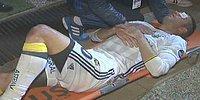 Göz Kapağı Yırtılan Robin van Persie 15 Dakika Ambulans Bekledi!