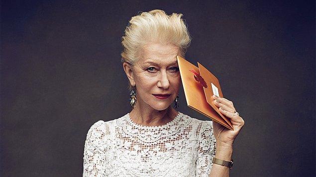 3. Helen Mirren