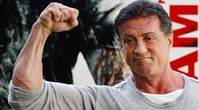 6. Sylvester Stallone