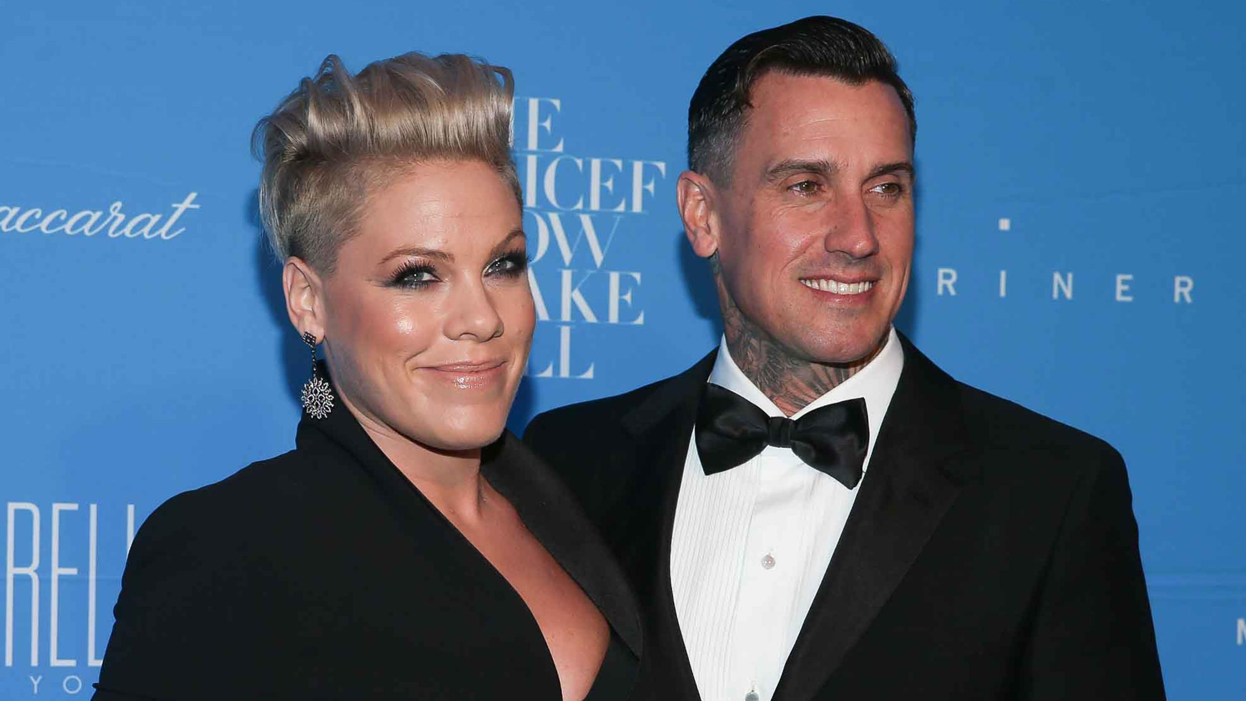 Pink says in a new interview with Us Weekly that things havent always been easy with her husband Carey Hart but that theyve learned how to come
