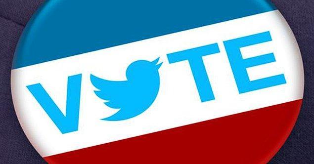 Twitter, bugün ABD'deki başkanlık seçimiyle ilgili 40 milyon tweet atıldığını açıkladı