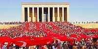 Saat 9'u 5 Geçe Türkiye'den 10 Kasım Manzaraları