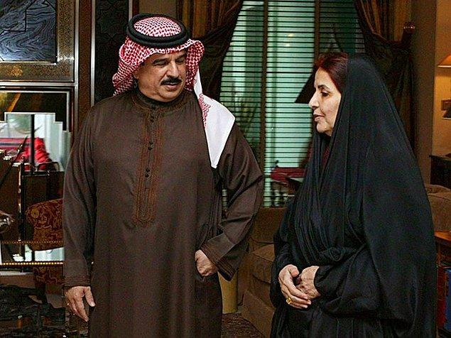 2. Bahreyn kralı Hamad Bin İsa El Halife'nin kraliçesi Sabika Bin İbrahim El Halife