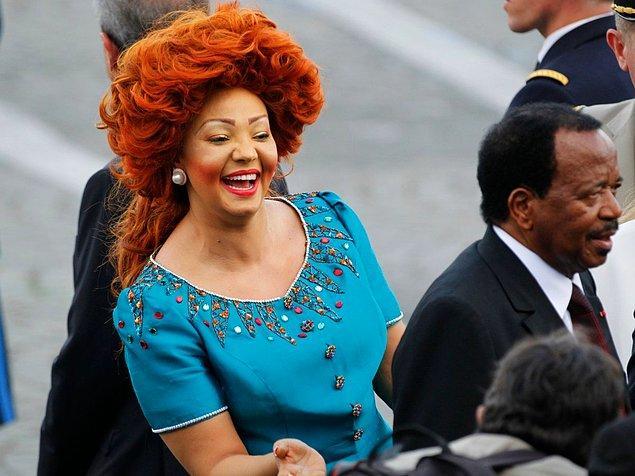 3. Kamerun'un moda akımları yaratan First Lady'si Chantal Biya
