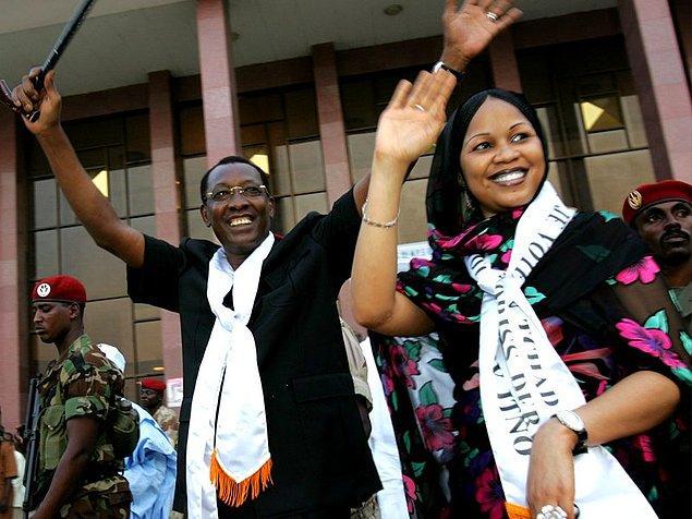 4. Eski Çad Cumhurbaşkanı İdriss Déby Itno'nun eşi Hinda Déby.