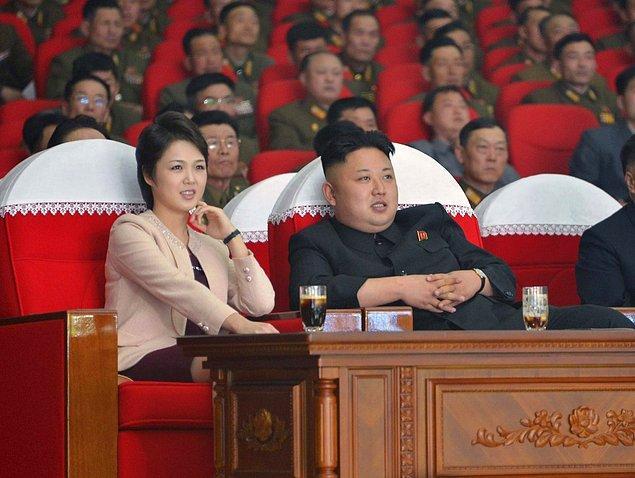 8. Kuzey Kore'nin gizemli prensesi Ri Sol Ju