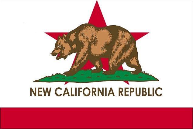 """Referandum kampanyası kapsamında, bayrağını da hazırlayan California'nın adının ise """"Yeni California Cumhuriyeti"""" olması hedefleniyor."""