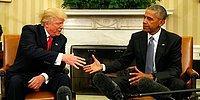 Obama'dan Trump'a: 'Başarılı Olman İçin Elimizden Geleni Yapacağız'