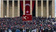 Türkiye Ata'sını Unutmadı: Yurdun Dört Bir Köşesinden 10 Kasım Manzaraları
