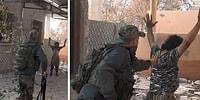 Peşmerge ile Çatışan IŞİD'linin Kendini Patlattığı An Kameralarda