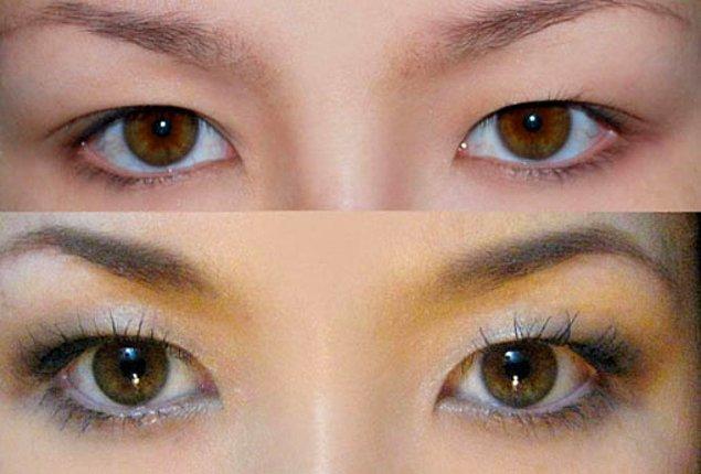 4. Göz rengi değiştirme