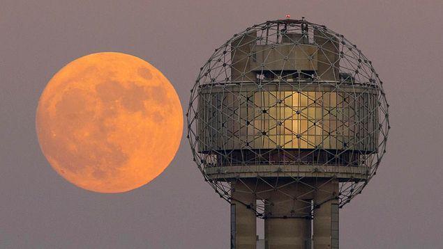 Ay, 25 Kasım 2034'e kadar Dünya'ya bu kadar yakın bir mesafeye gelmeyecek.