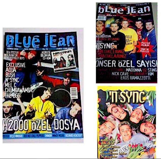 Elbette posterler, çıkartmalar, özel kitapçıklar... Her yerde 'N Sync yıldızı olan bir dönemdi.