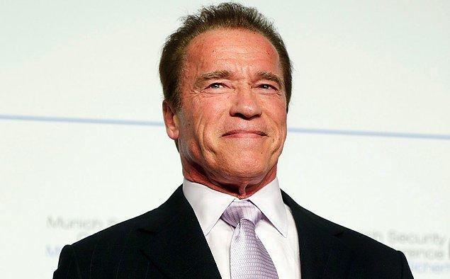 2. Arnold Schwarzenegger