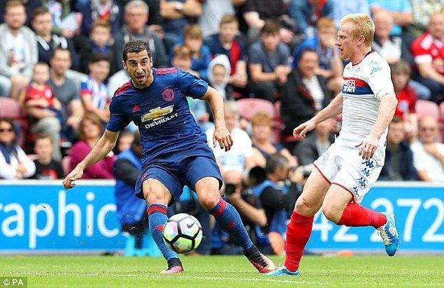 6. Henrikh Mkhitaryan - Manchester United